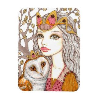 Sisterhood of the White Owl Rectangular Photo Magnet