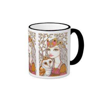 Sisterhood of the White Owl Ringer Mug