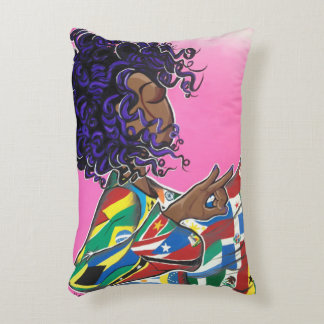 Sisterhood Without Borders/ International Beauty Accent Pillow