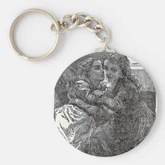 Sisterly love keychain