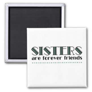 Sisters 2green refrigerator magnet