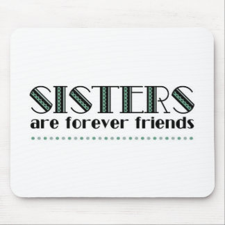 Sisters 2green mouse pad