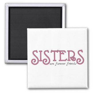 Sisters 3pink magnet