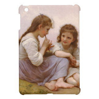 Sisters and Flute Music by Bouguereau iPad Mini Cover