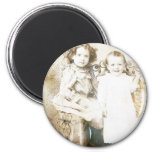 Sisters and Lace Refrigerator Magnets