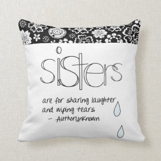 Sisters are for Sharing Pillows