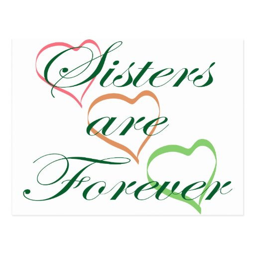 Sisters are Forever Postcards