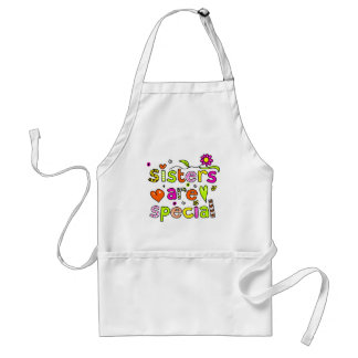 Sisters are Special Adult Apron