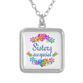 Sisters are Special Silver Plated Necklace