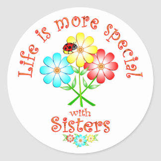 Sisters are Special Stickers