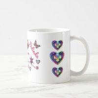 Sisters at Heart LYLAS Coffee Mug