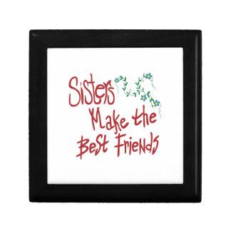 Sisters Best Friends Keepsake Box
