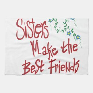 Sisters Best Friends Towel