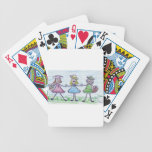 Sisters Bicycle Poker Cards