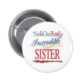 Sisters: Big Little and Middle Pinback Button