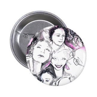 Sisters 2 Inch Round Button