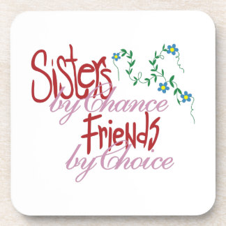 Sisters by Chance Beverage Coaster