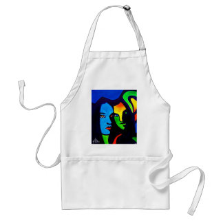 Sisters by Piliero Adult Apron