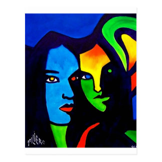 Sisters by Piliero Postcard