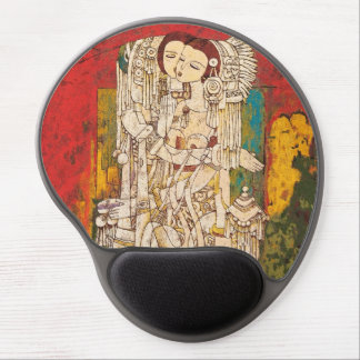 Sisters Chen Yongle oriental abstract ladies art Gel Mouse Pad