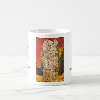 Sisters Chen Yongle oriental abstract ladies art Coffee Mugs