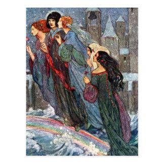 Sisters Cross the Bridge With Me, Postcard