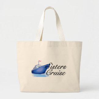 Sisters Cruise Jumbo Tote Bag