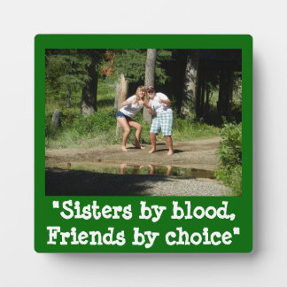 Sisters for life display plaques