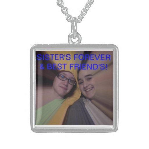 Sister's for life necklaces
