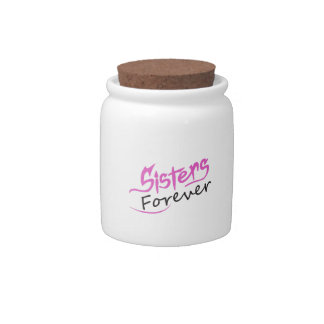 SISTERS FOREVER CANDY JAR