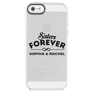 Sisters Forever Clear iPhone SE/5/5s Case