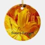 Sisters Forever! Hanging Ornaments Rhododendrons
