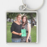 Sisters Forever Keychain