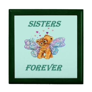 Sisters Forever large jewelry box