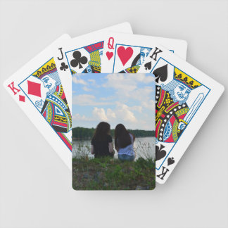 Sisters/Friends Bicycle Playing Cards