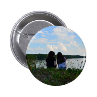 Sisters/Friends Pinback Button