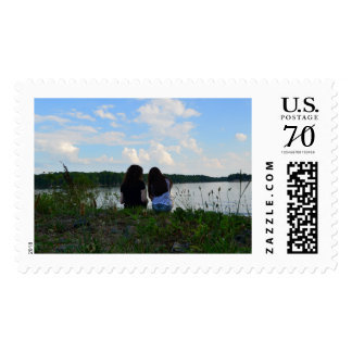Sisters/Friends Stamp
