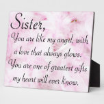 Sisters greatest love photo plaques