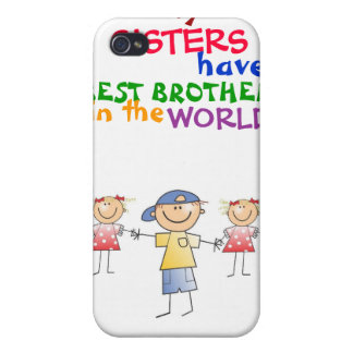 Sisters have Best Brother 4/4s  iPhone 4 Cover