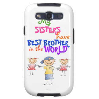 Sisters have Best Brother Samsung Case-Mate Case Samsung Galaxy S3 Covers