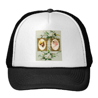 SISTERS IN SPRING TRUCKER HAT