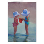 'Sisters in Sun Hats' Stationery Note Card