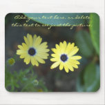 Sisters In The Garden Mousepads
