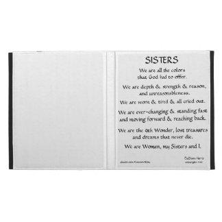 Sisters iPad Cse iPad Folio Covers