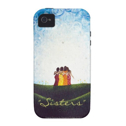 """""""Sisters"""" iPhone 4/4s Tough Case Case For The iPhone 4"""