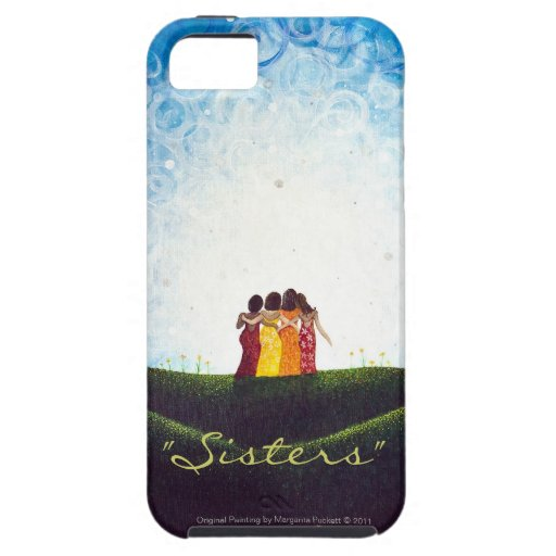 """""""Sisters"""" iPhone 5 Tough Case iPhone 5 Cases"""