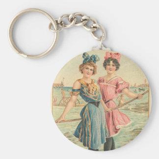 Sisters Key Chain