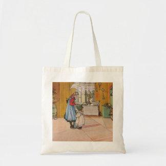 Sisters - Koket av Carl Larsson Tote Bag