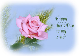 floral mothers day sister cards zazzle