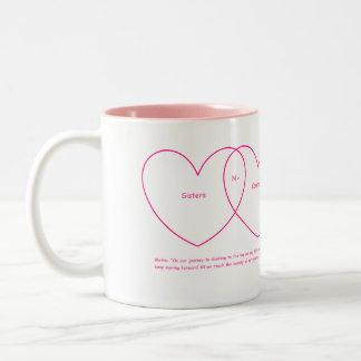 Sisters N-Courage (c) 2016 Two-Toned Mug 1